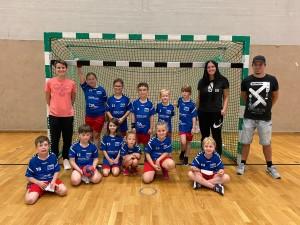 Die F-Jugend spielt wieder Handball !