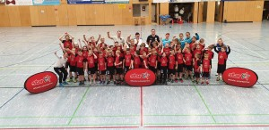 Ostercamp: Intersport-Handballschule in der Thielsparkhalle !
