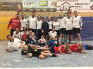 HSV: Eine Stadt spielt Handball 2019  – Routine siegt am Ende !