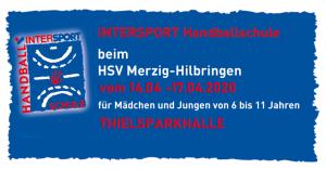 Jetzt Anmelden: Handball-Camp 2020 !