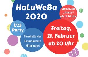 Vorverkauf gestartet: HaLuWeBa 2020 !