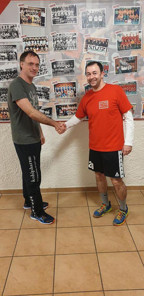 Vertragsverlängerung von Trainer Marco Recktenwald