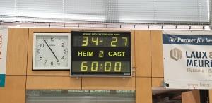HSV Merzig/Hilbringen 2 – TuS Elm-Sprengen 2 u. 3.   34:27 (21:10) !