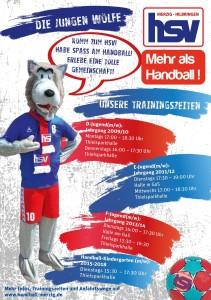 Achtung Terminänderung: Schnuppertrainings beim HSV !